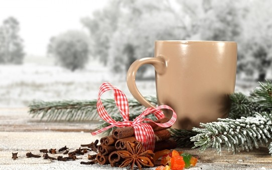 Buz gibi havada, karı izlerken kahve içmek kışı beklerken sabırsızlanmanın da nedenidir.